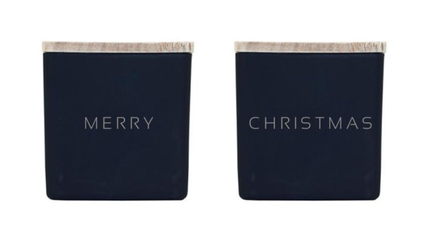 MERRY CHRISTMAS CANDLES (GIFT SET)