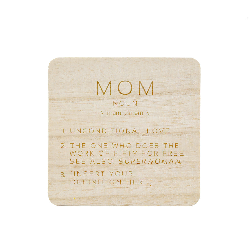 MOM DEFINITION CANDLE