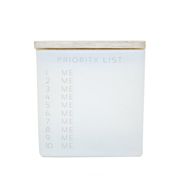 PRIORITY LIST (ME) CANDLE