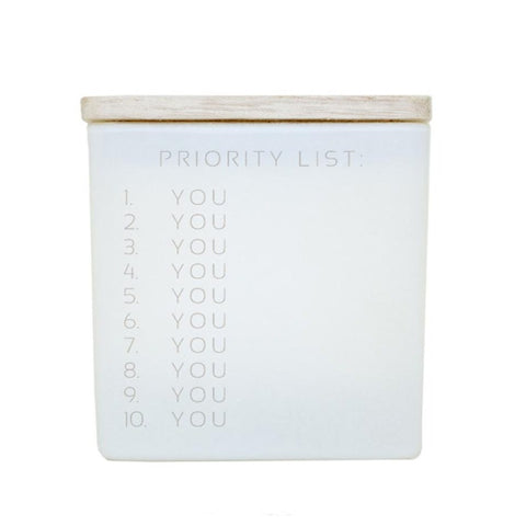 PRIORITY LIST (YOU) CANDLE