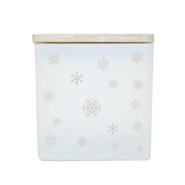SNOWFLAKES NAME CANDLE