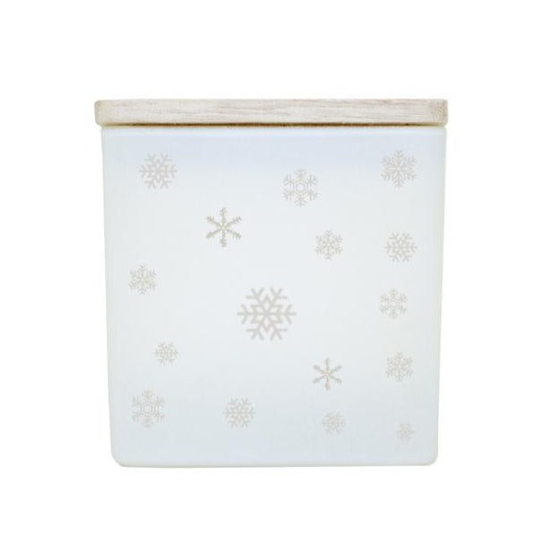 SNOWFLAKES CANDLE