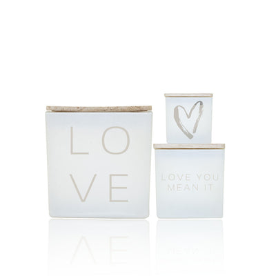 LOVE YOU STARTER  CANDLE SET