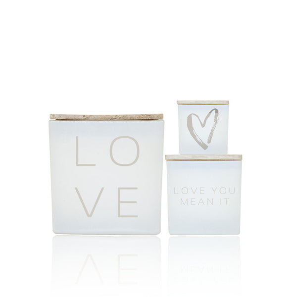 LOVE STARTER CANDLE SET