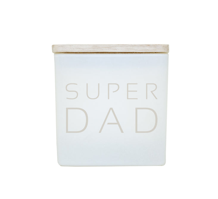 SUPER DAD CANDLE