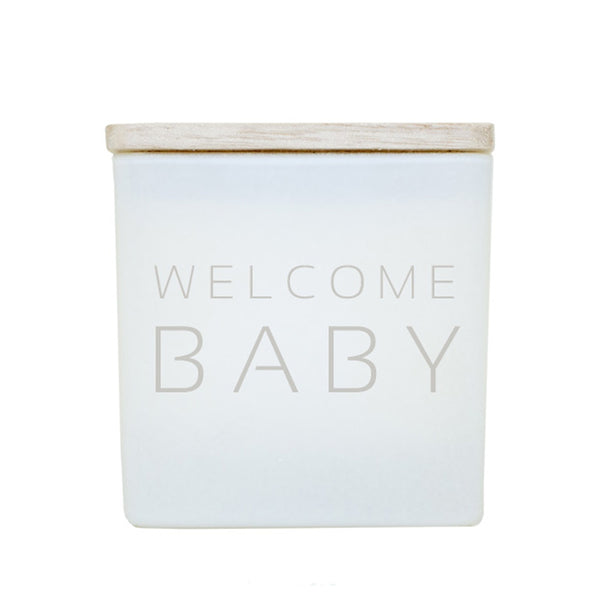 WELCOME BABY CANDLE