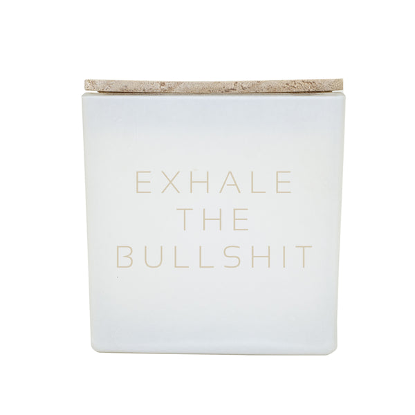 EXHALE THE BULLSH*T CANDLE IG