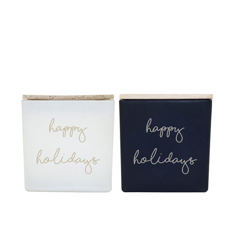 HAPPY HOLIDAYS CANDLES (GIFT SET)
