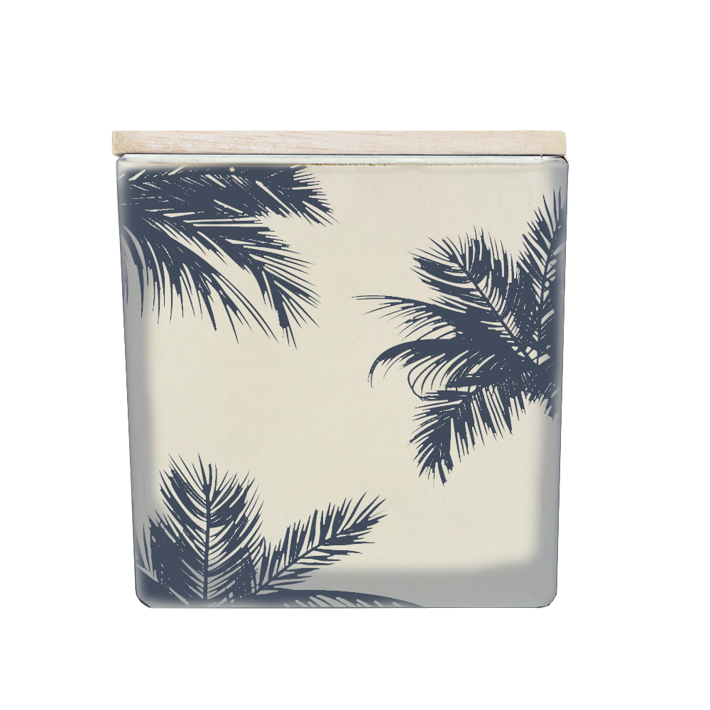 INVERTED PALM PRINT CANDLE