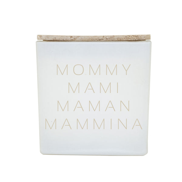 MOMMY MAMI MAMAN MAMMINA CANDLE