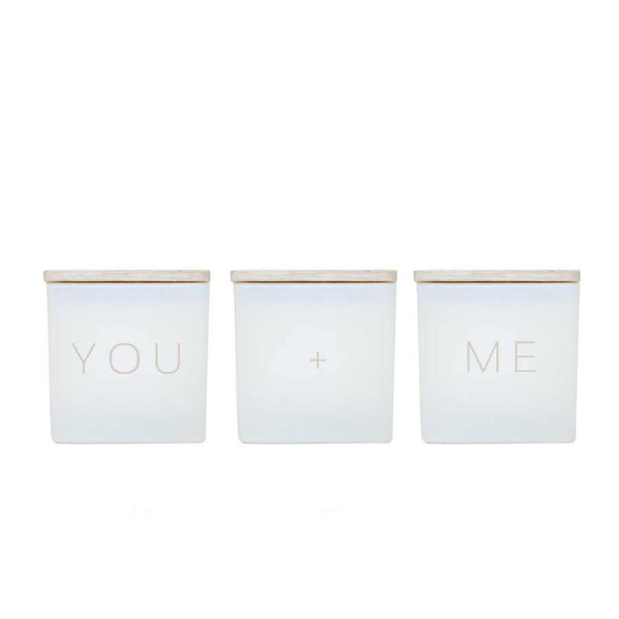 YOU + ME CANDLES (GIFT SET)