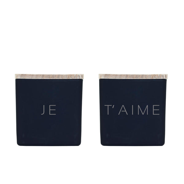 JE T'AIME CANDLES (GIFT SET)