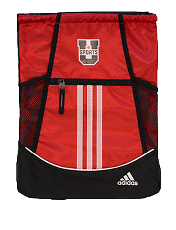 U SPORTS Adidas Sackpack (Red-O/S)