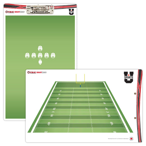 U SPORTS PRO Clipboard Canadian Football