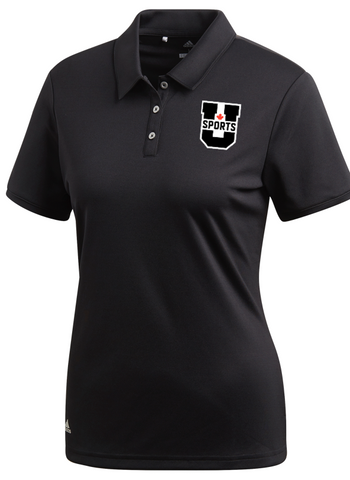 U SPORTS Golf Polo (Black-Women)