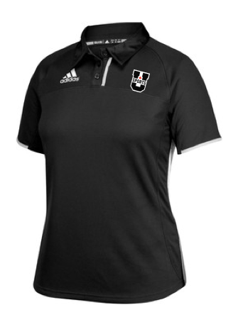 U SPORTS Adidas Polo (Black-Women)