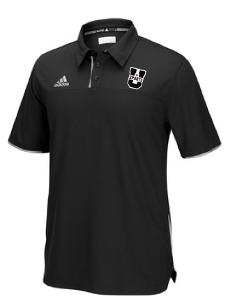 U SPORTS Adidas Polo (Black-Men)