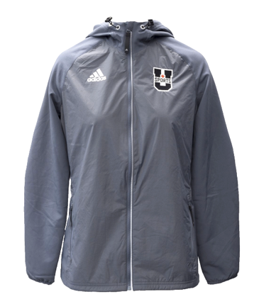 U SPORTS Adidas Windbreaker Jacket (Grey-Women)