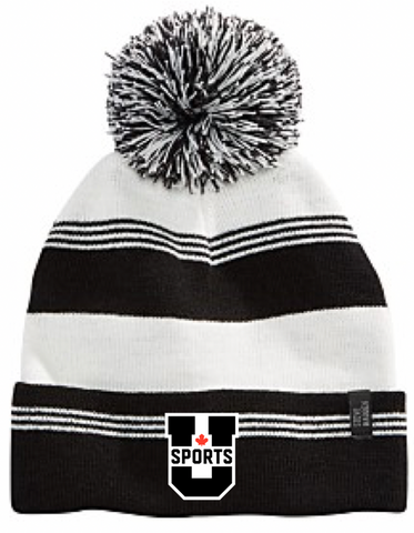 U SPORTS Toque (Black/White-O/S)