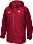 U SPORTS Adidas Canada Modern Varsity Jacket (Red-Women)