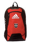 U SPORTS Adidas Stadium Backpack (Red-O/S)