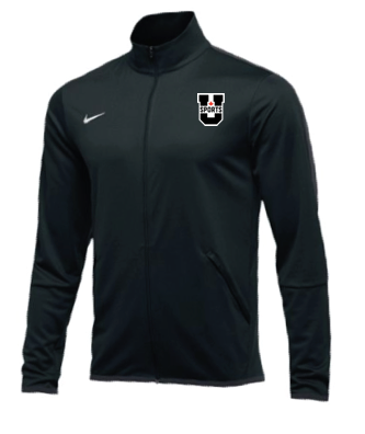 U SPORTS Team Nike Epic Jacket  (Black - Men)