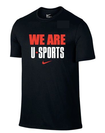 WE ARE U SPORTS Nike Tee (Black - Unisex)