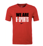 WE ARE U SPORTS Nike Tee (Red - Unisex)