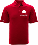 U SPORTS Levelwear Canada Polo (Red-Men)