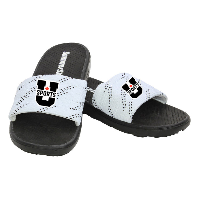 U SPORTS Summer Skates (Black/White-Unisex)