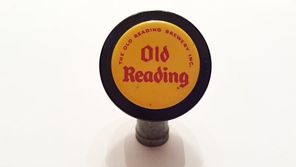 Vintage Old Reading Brewery Inc. Beer Ball Tap Pull Marker -  Circa 1940's - 1950's