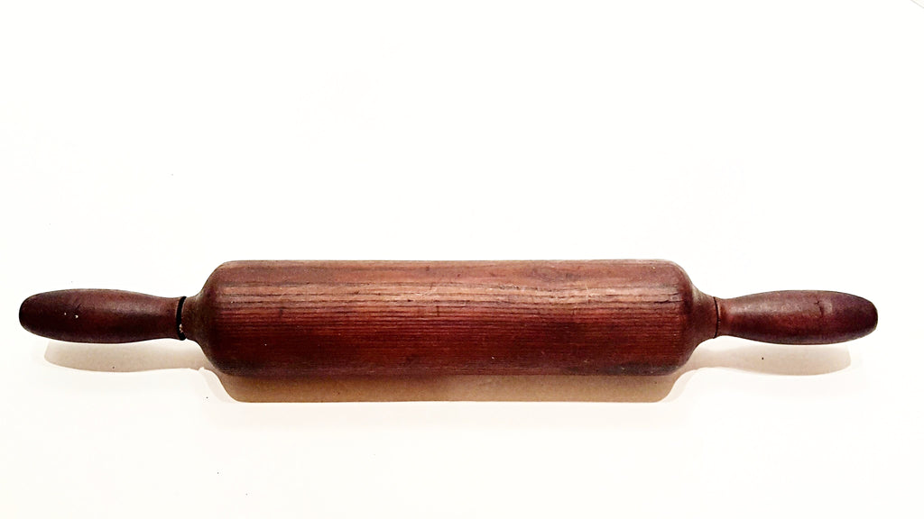 "Vintage Wooden Farmhouse Rolling Pin - 20 1/2"" Long"