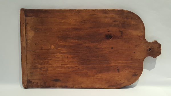 Large Primitive Wooden Dough Cutting Treen Board