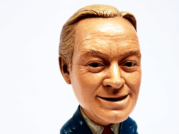 1979 Bob Hope ESCO Large Head Cartoon Chalkware Statue