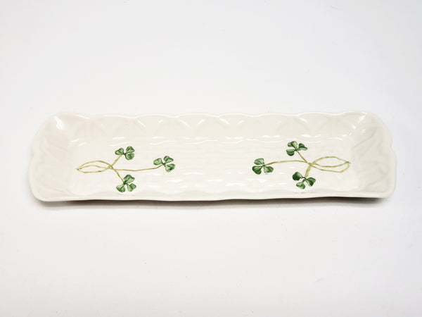 Shamrock Mint Tray by Belleek