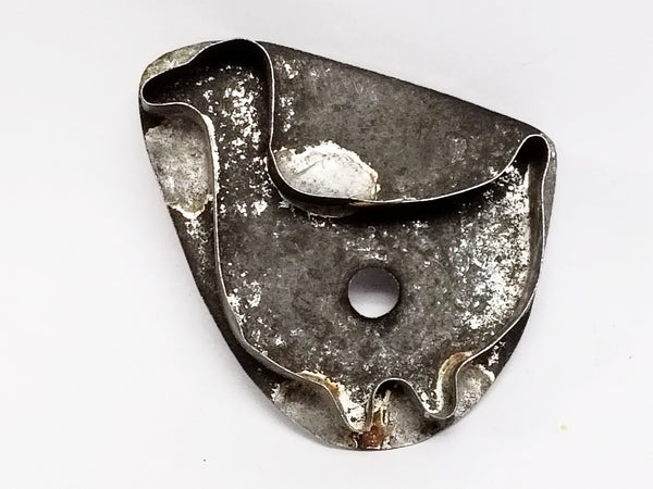 "Antique ""Little Duck"" Tin Cookie Cutter - Flat Back and Soldered Seams"