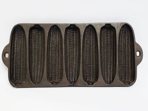 Wagner Ware Cast Iron Corn Bread Mold - Krusty Corn Cobs Pat'd 1920