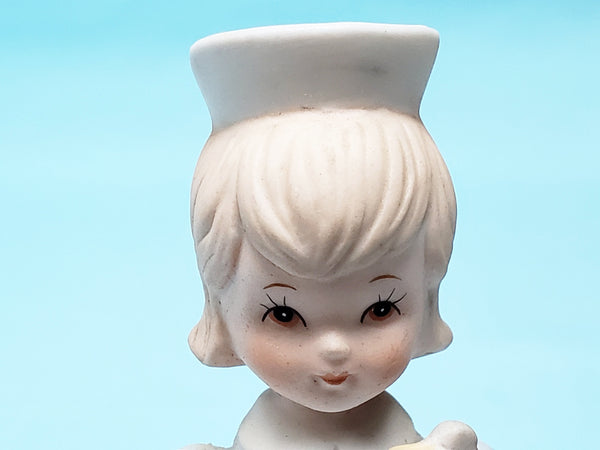 Lefton Clipboard Nurse Figurine The Christopher Collection