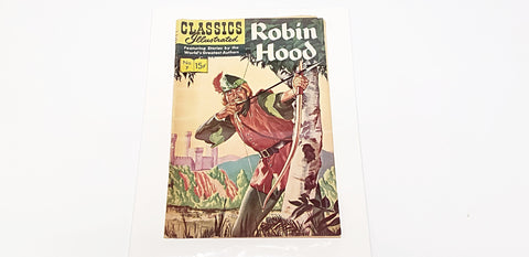 Classics Illustrated Robin Hood No. 7 Oct. 1943