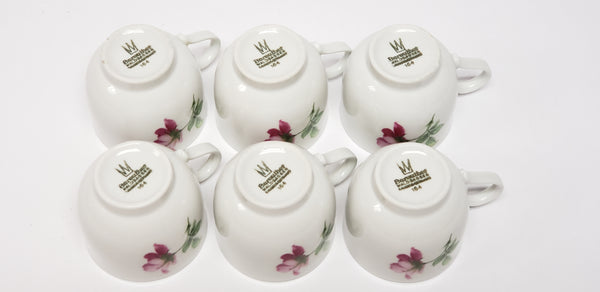 Demitasse Tea Set 19 pieces by Bareuther Waldsassen Bavaria-Germany