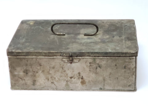 "Antique National Biscuit Company ""Pandora Box""  Salesman Sample Tin Box"