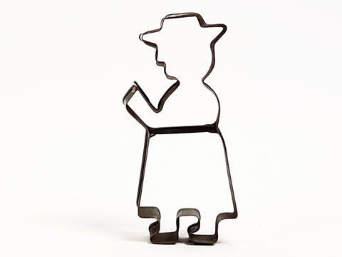 "Early 1900's German Cookie Cutter ""German Preacher""  By S. Joseph Company"