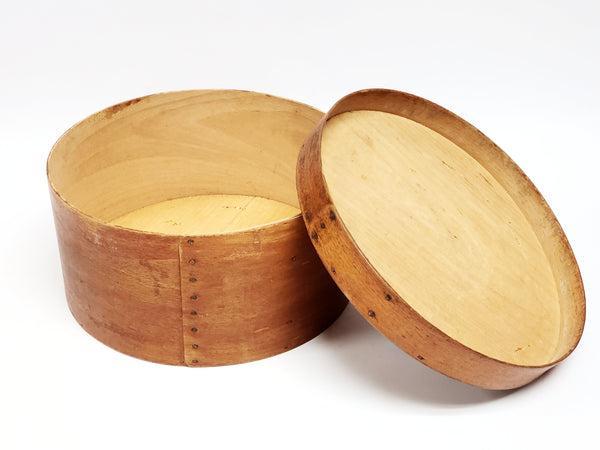 Antique Nesting Bentwood Pantry Boxes - Set of 3