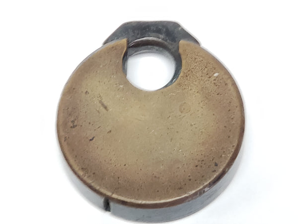 Antique Safe 6 Lever Padlock Push Lock No Key by Safe Padlock and