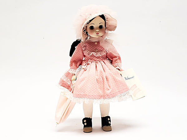 Vintage Madame Alexander Doll Dressed Pink - Rebecca #1585 in Original Box