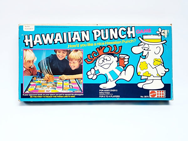 Vintage 1978 Mattel Hawaiian Punch Board Game Complete w/ Original Instructions