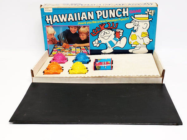 Vintage 1978 Mattel Hawaiian Punch Board Game Collectible, Complete w/ Original Instructions