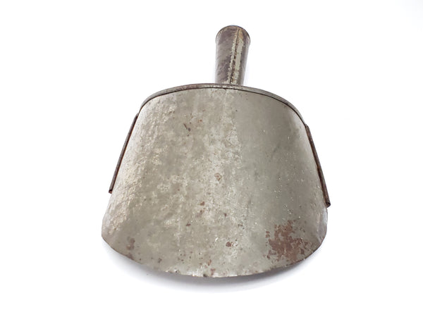 Tin General Store Dry Grain Scoop with Soldered Seams 12 1/2""