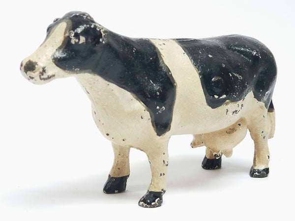 Cast Iron Holstein Cow Barn Animal