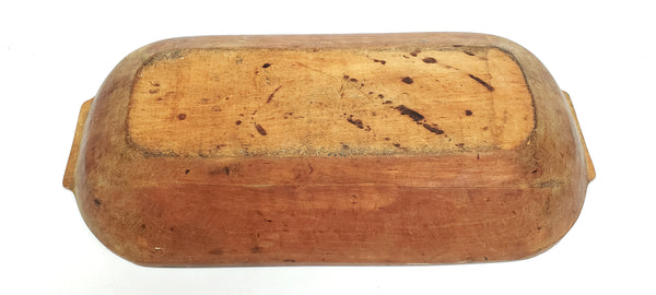 Antique Wooden Trencher Dough Bowl